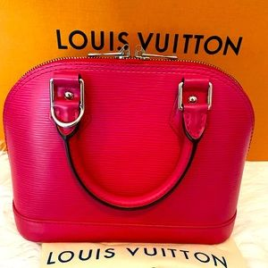 Louis Vuitton Alma Bb Two-way in HOT PINK